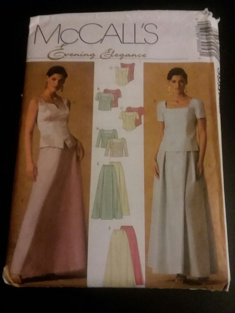 Sewing Pattern McCalls Evening Elegance 3995 16 18 20 22 Uncut ...