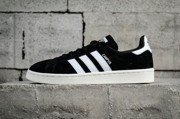 34ac7197a2d nouvelle arrivee Adidas Campus Beams Canal Black Noir White blanc BZ0084  Youth Big Boys Sneakers