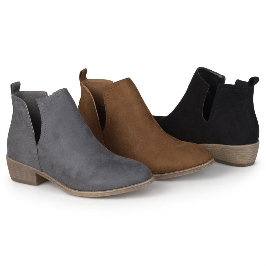 c6fae98e85785 Vionic Serena Water Resistant Suede Zipper with Tassel Pull Block Heel  Ankle Boots | Things I need | Boots, Suede ankle boots, Dillard boots