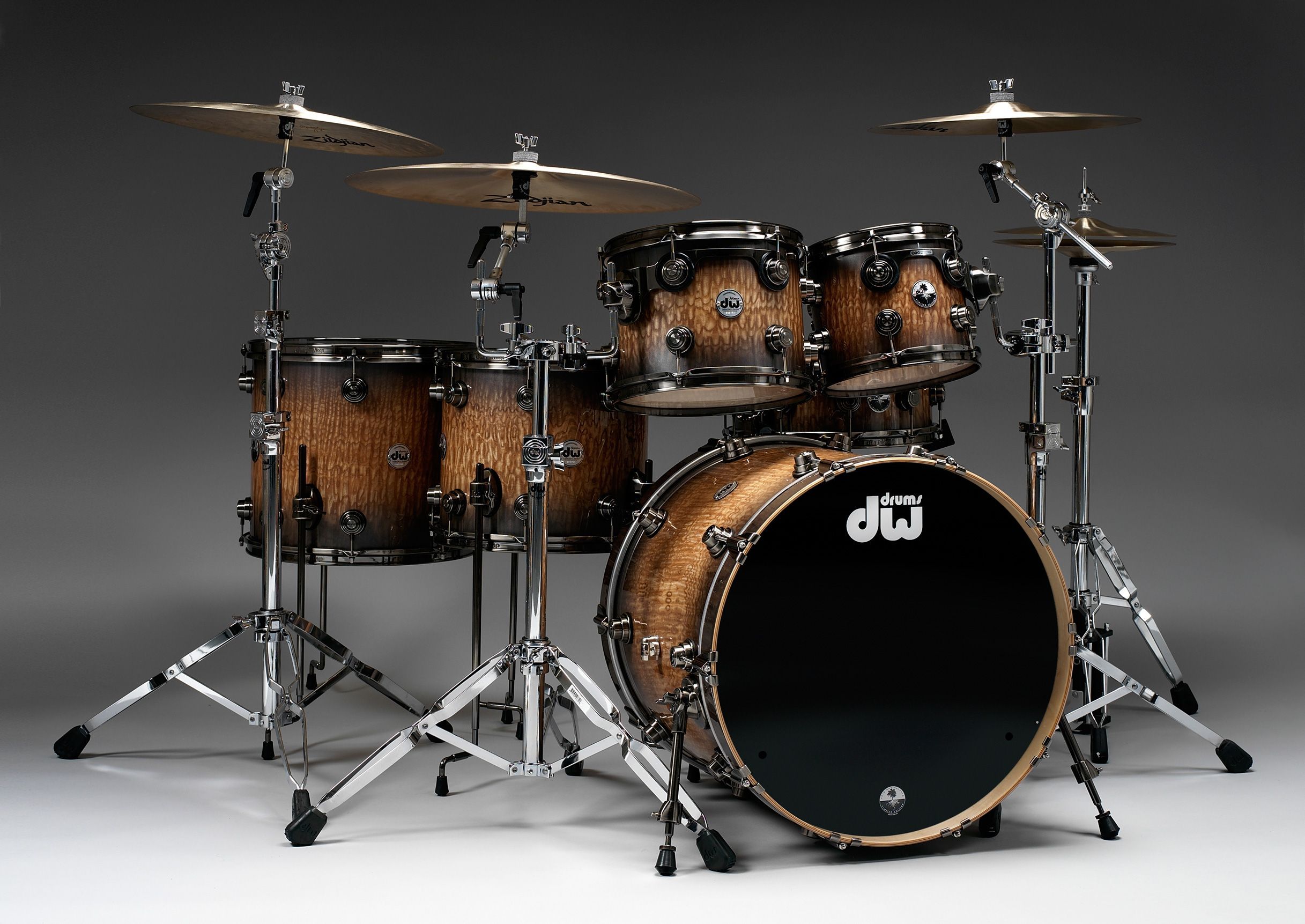 edf231fc6ba8 Limited Edition 40th Anniversary Kit - Metallic Pewter to Natural Lacquer  Burst over Exotic Tamo Ash with Pewter Hardware