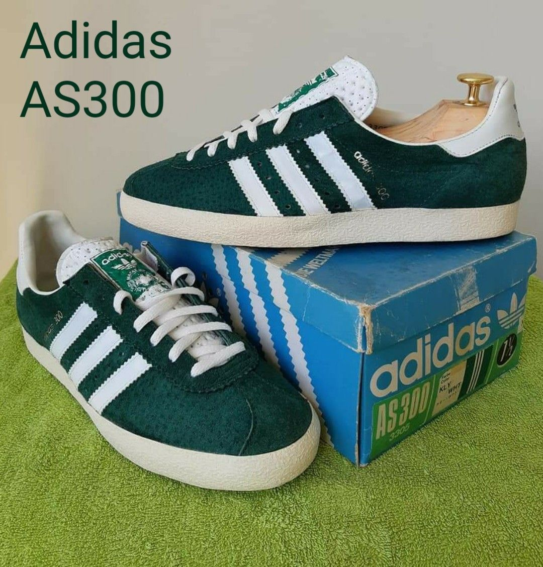 A stunning pair of vintage Adidas AS300 with original box