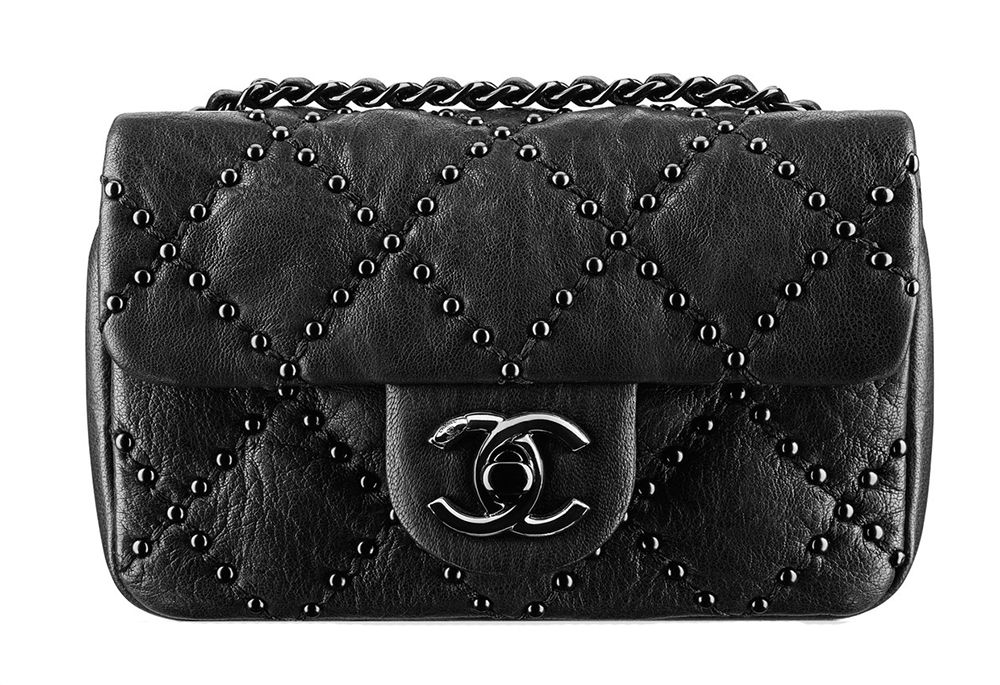 ea0d84a3f5 Chanel Mini Studded Flap Bag | Bagz in 2019 | Channel bags, Chanel ...