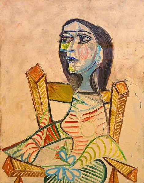 Portrait de femme, 1938  by Pablo Picasso