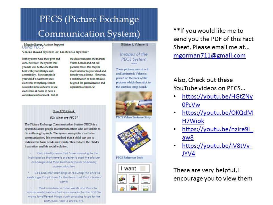 PECS Fact Sheet (Resource Guide Activity #9) Social   Microsoft Word Fact  Sheet  Microsoft Word Fact Sheet Template