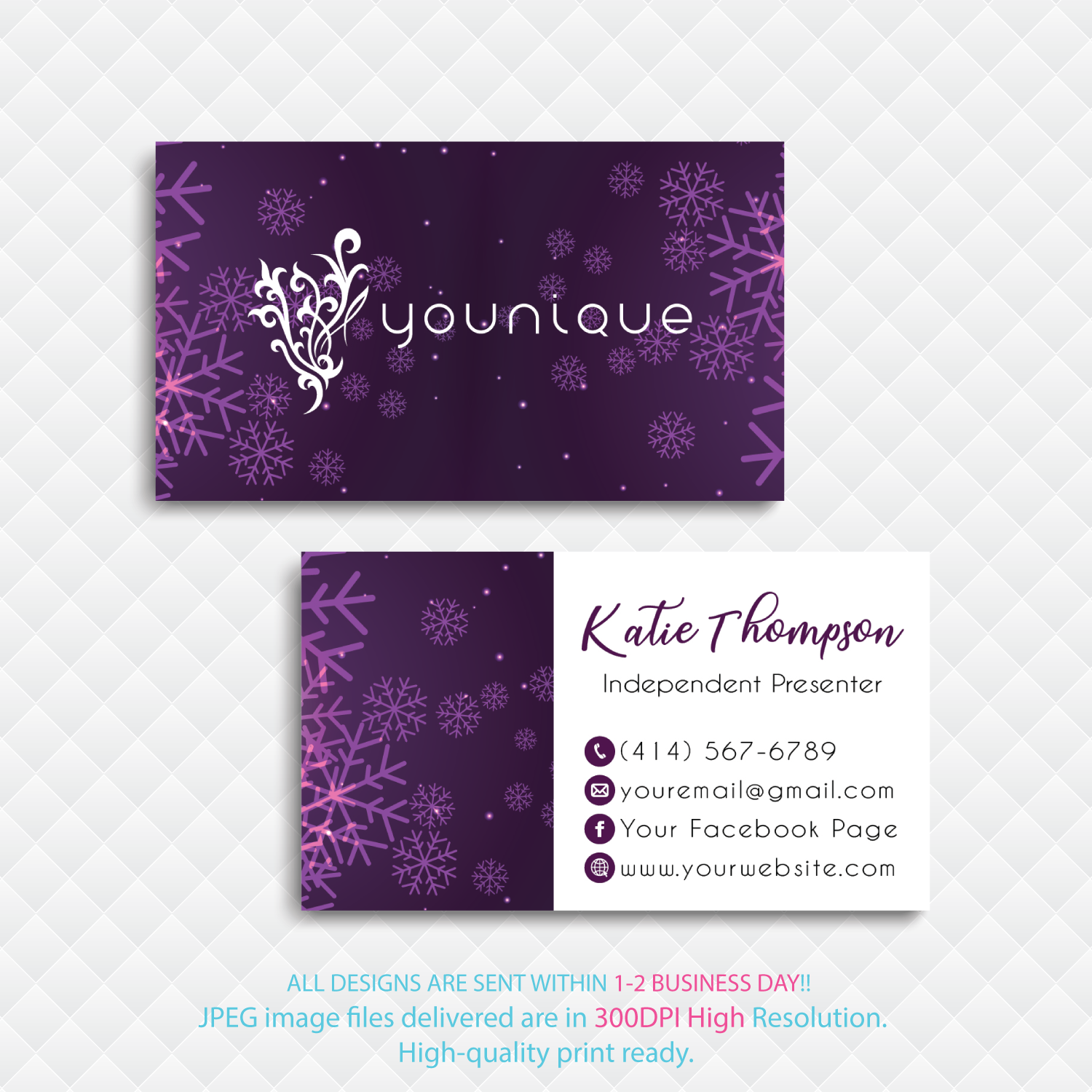 Custom Younique Cards Personalized Younique Business Cards Custom Business Card Younique Business Cards Yq03 Younique Business Cards Printing Business Cards Younique Business