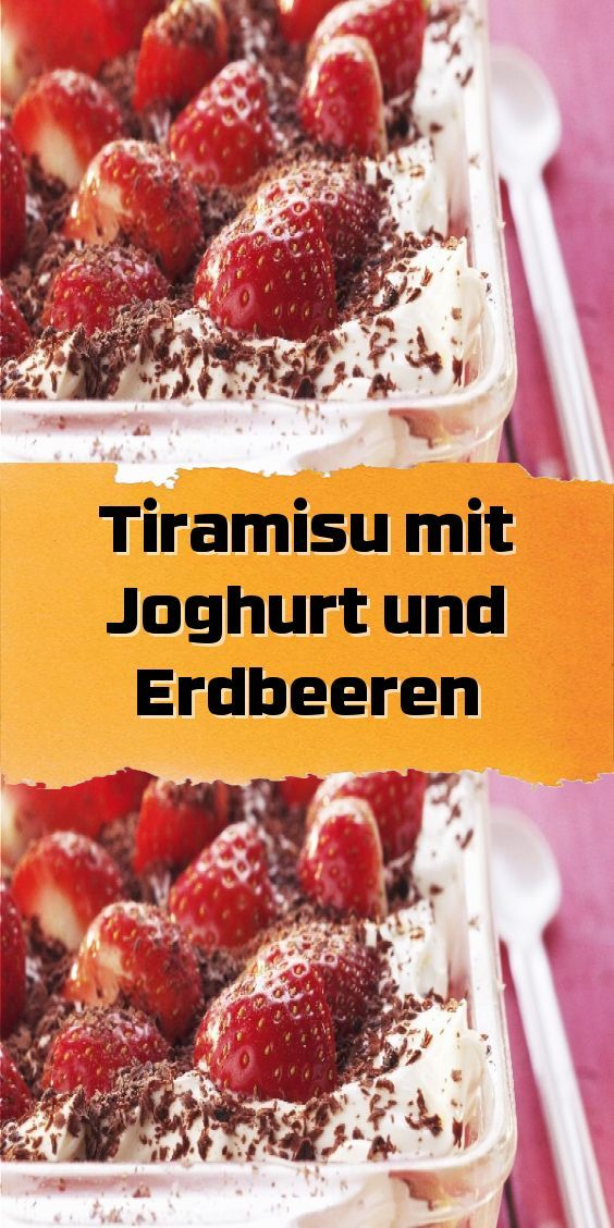 Frozen Yogurt Erdbeer-Waffeln - Plant Happy