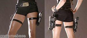 Sexy-LARA-CROFT-HOLSTER-BELT-Buckle-Tomb-Raider-Costume