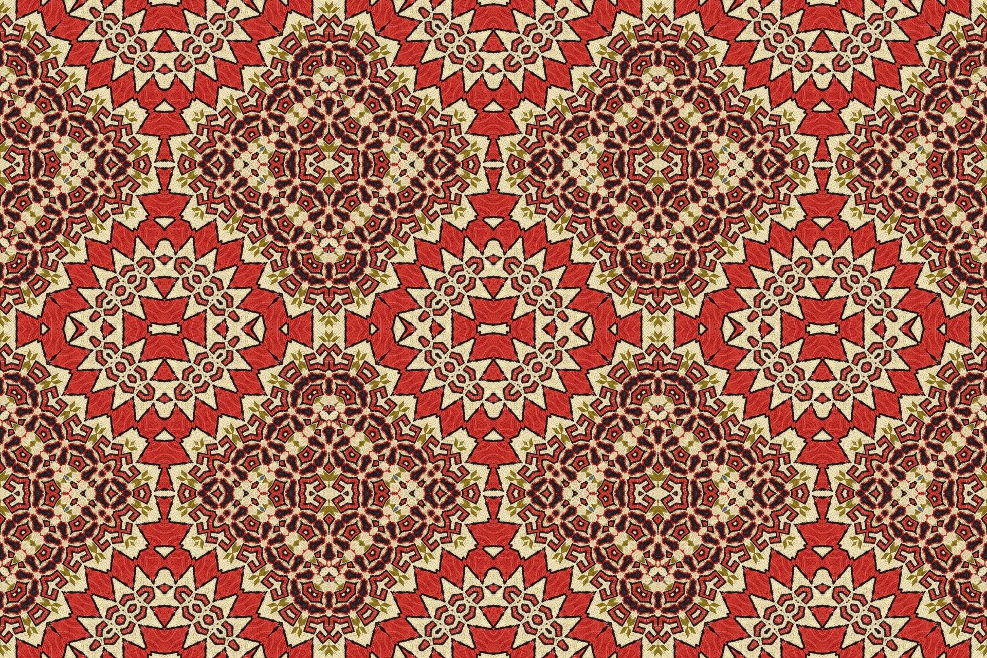 Seamless Pattern Based On Turkish Carpet For Your