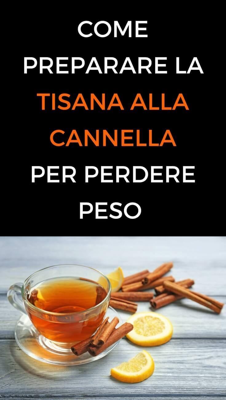 come perdere peso velocemente con il tè alla cannella