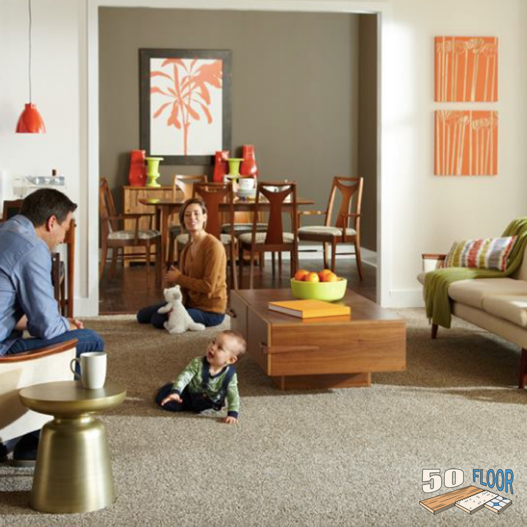 Beautiful Carpet Anchors The Mid Century Modern Look Call 877 50floor For A Free In Home Consultation Flooring Inspiration Beautiful Carpet Flooring