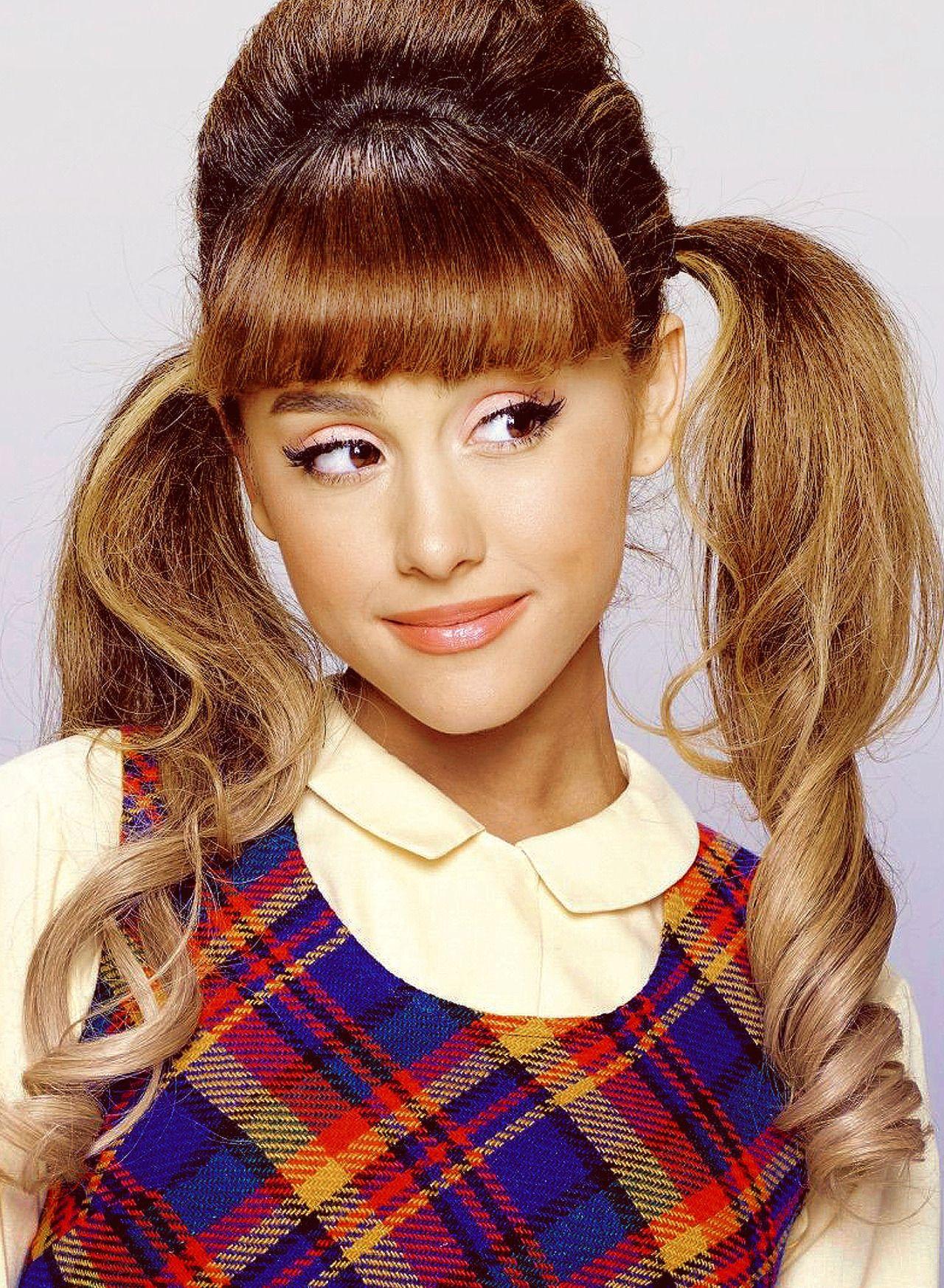 Promo nbc s hairspray live ariana grande cf pinterest coiffures - Ariana grande coiffure ...