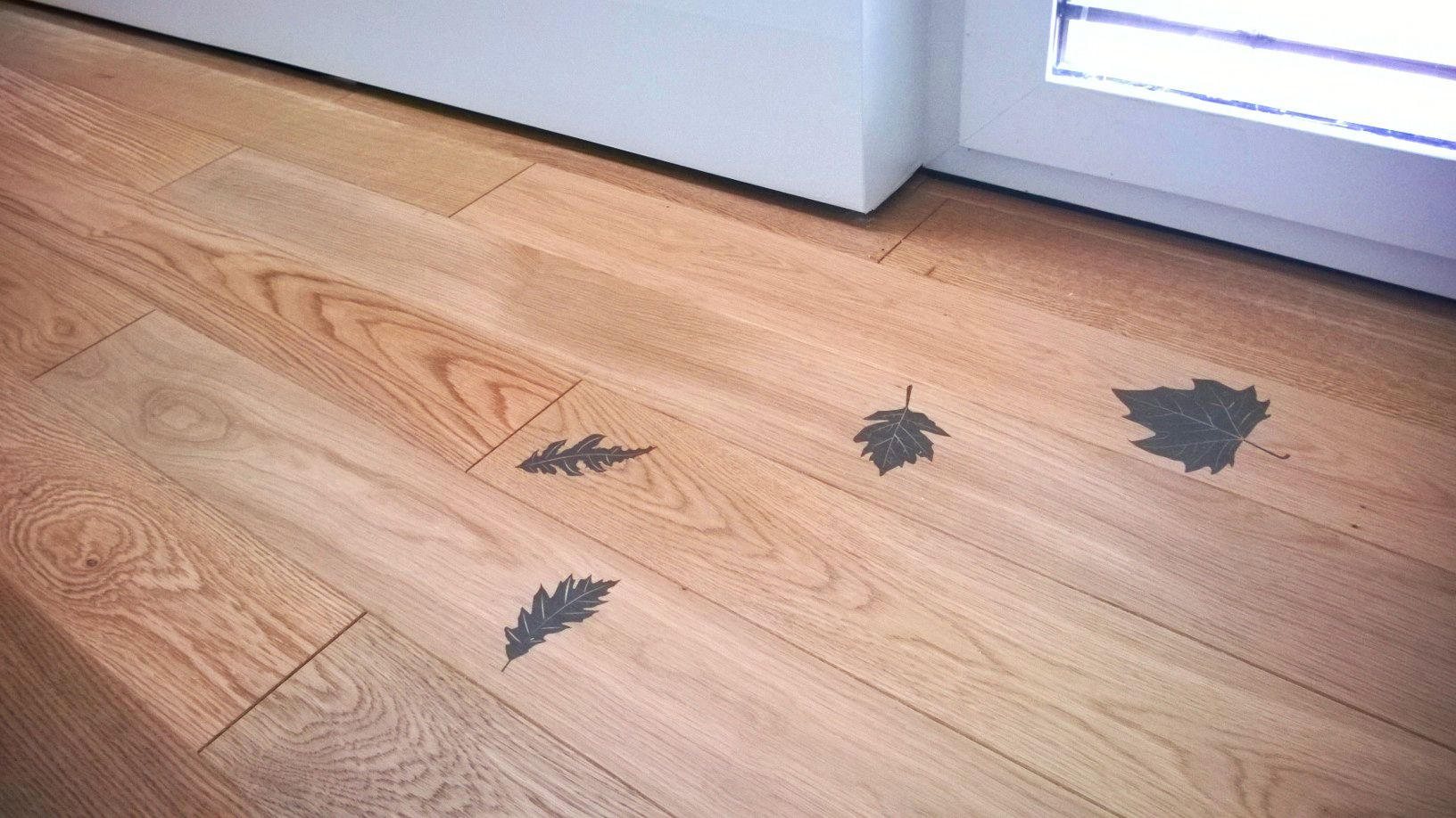 Xilo oak parquet leaves for my kids room by a3lier