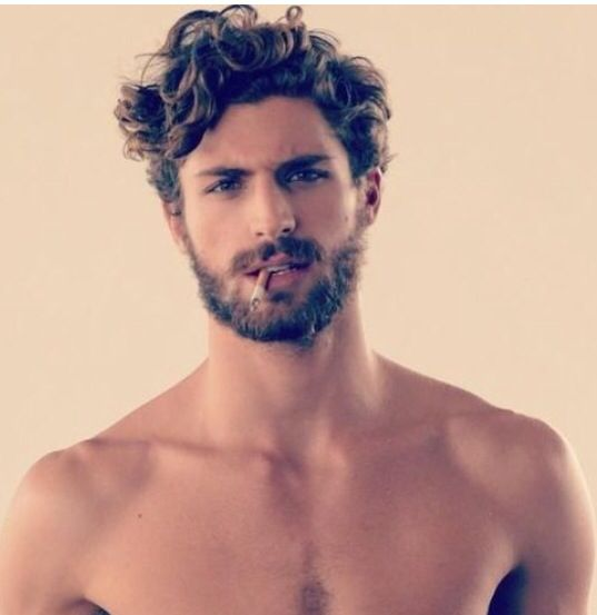 Curly Hairstyles For Men Brilliant Pinluisga Reyes On Hairstyles  Pinterest  Haircuts Guy