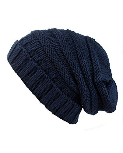 95b644b3990 NYfashion101 Exclusive Oversized Baggy Slouchy Thick Winter Beanie ...