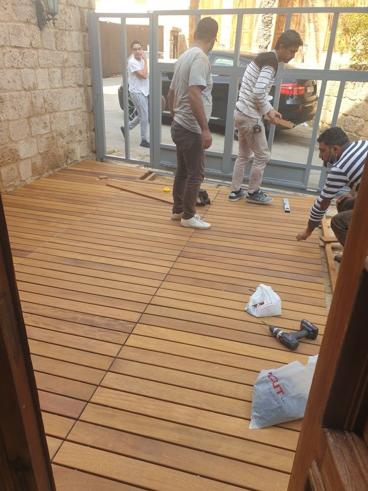 Wpc Flooring Outdoor In Damascus And Lebanon 0096171170181 W P Decking Design Deck Wood Outdoor In 2021 Outdoor Deck Outdoor Decor Outdoor