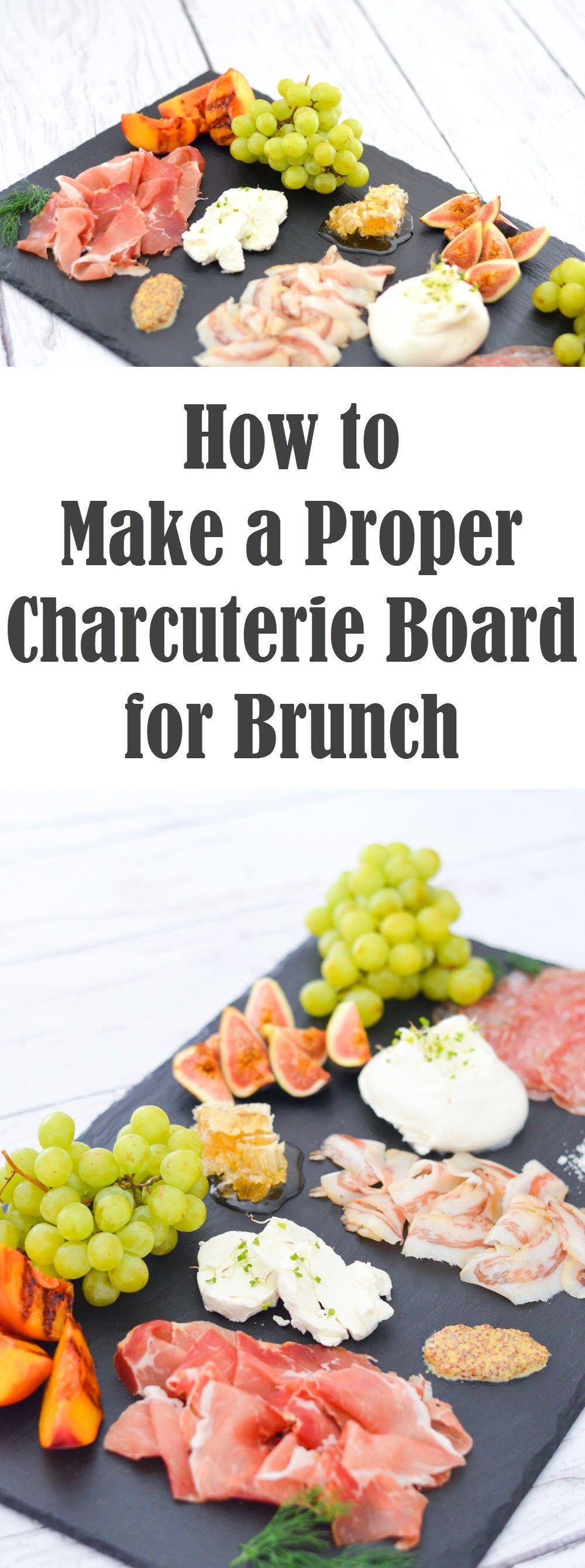 Brunch Charcuterie Board | Ideas- hosting guests! | Pinterest ...