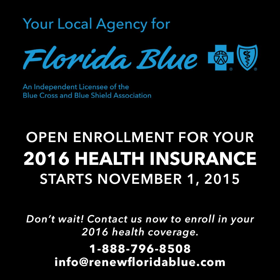 Blue Cross Health Insurance Quotes Fiorella Insurance Agency Is Your Local Florida Agency For Blue