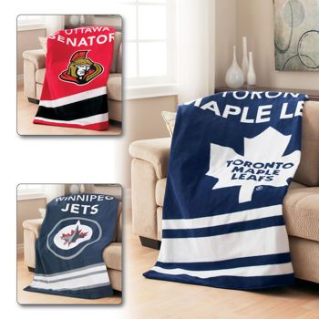 Costco Throw Blanket Prepossessing Costco Sunbeam® Selected Nhl Teams Heated Throw  Hockey Design Decoration