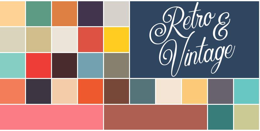 Free Procreate Color Palette Retro And Vintage Ipad Calligraphy Retro Color Palette Vintage Colour Palette Blue Colour Palette