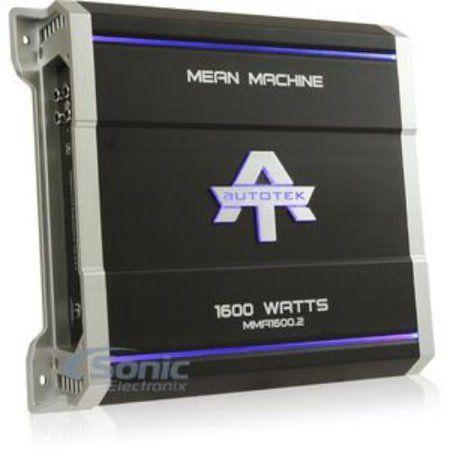 Autotek MMA1600 2 The Mean Machine 2-Channel Class AB Amp