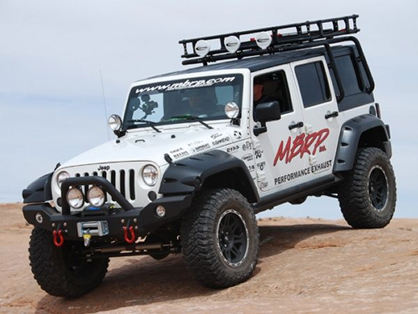 Nice MBRP Off Camber Fabrication Roof Rack Carrier System   Jeep .