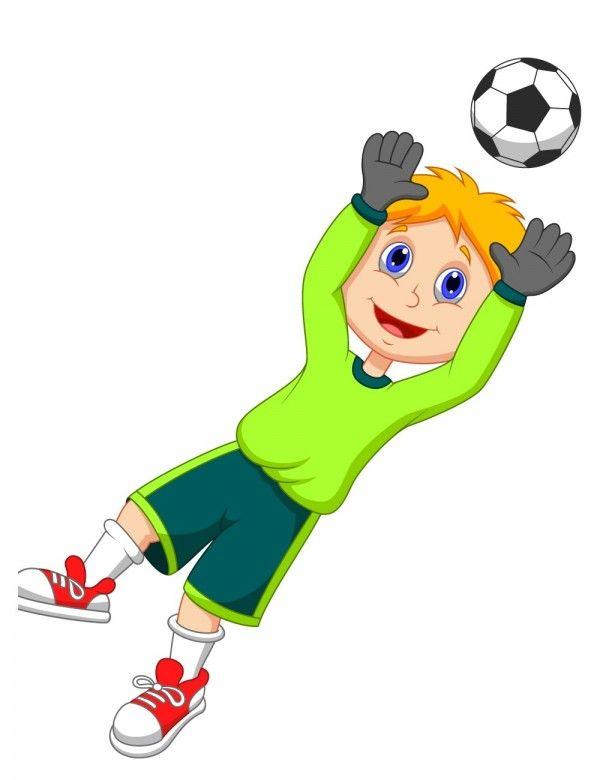 Kid Football Player Cartoon Image F Free Cartoon Images Free Cartoons Football Kids