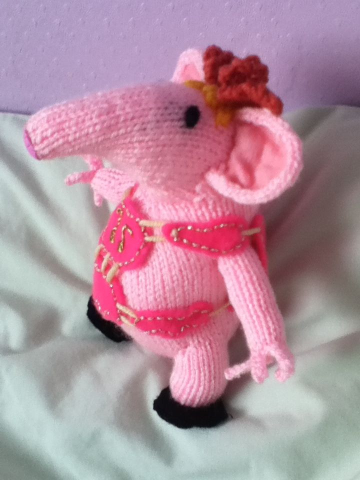 Clanger from Woman\'s Weekly pattern | Knitting | Pinterest