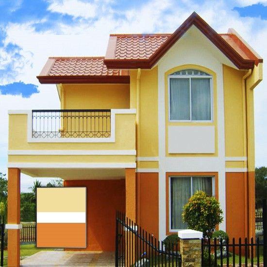 Colores para casas exteriores 2015 550 550 for Pintura de exteriores de casas pequenas
