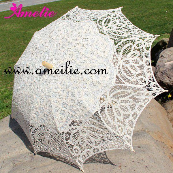 Battenburg lace parasol $22.39 - free shipping   Battenburg, lace ...