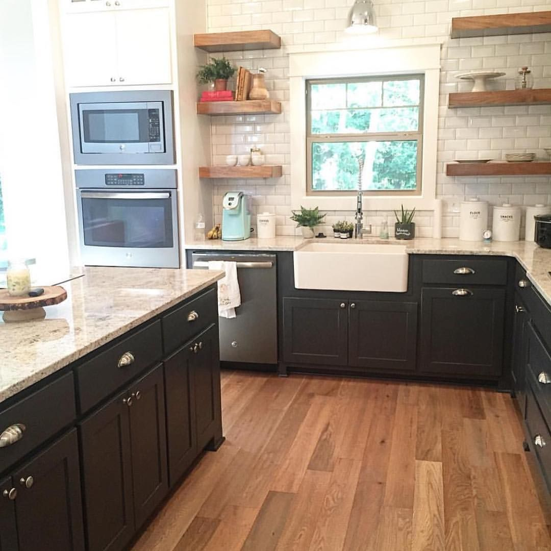2 Likes 1 Comments Clearwater Construction Clearwaternwa On Instagram This Modern Farmhouse Kitchen Modern Farmhouse Kitchens Kitchen Farmhouse Kitchen