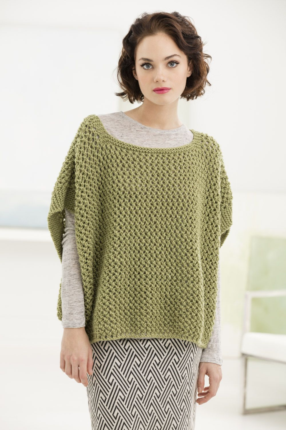 Luxury Free Knitting Patterns For Ponchos Uk Ornament - Sewing ...