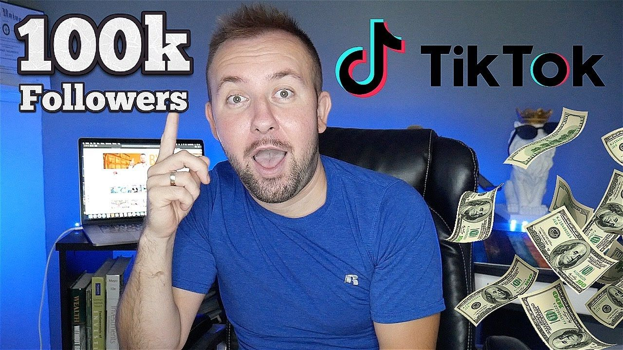 This Is How Much Money I Have Made On Tiktok 100k Followers Tiktok Cr Project Success Renters Insurance Investing