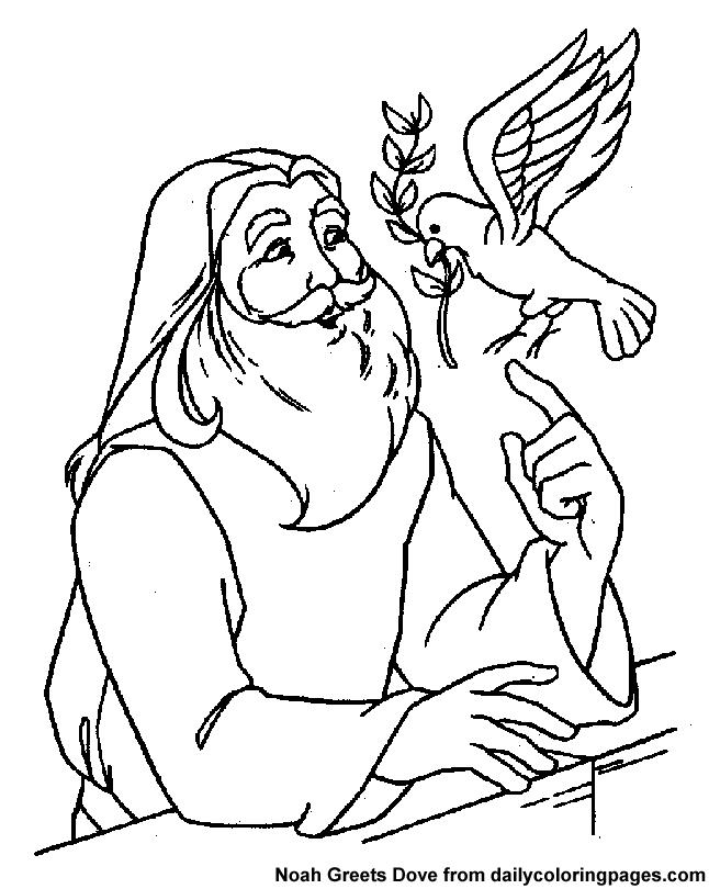 Noah\'s Ark Bible Coloring Sheets | Biblical Cut and paste and print ...