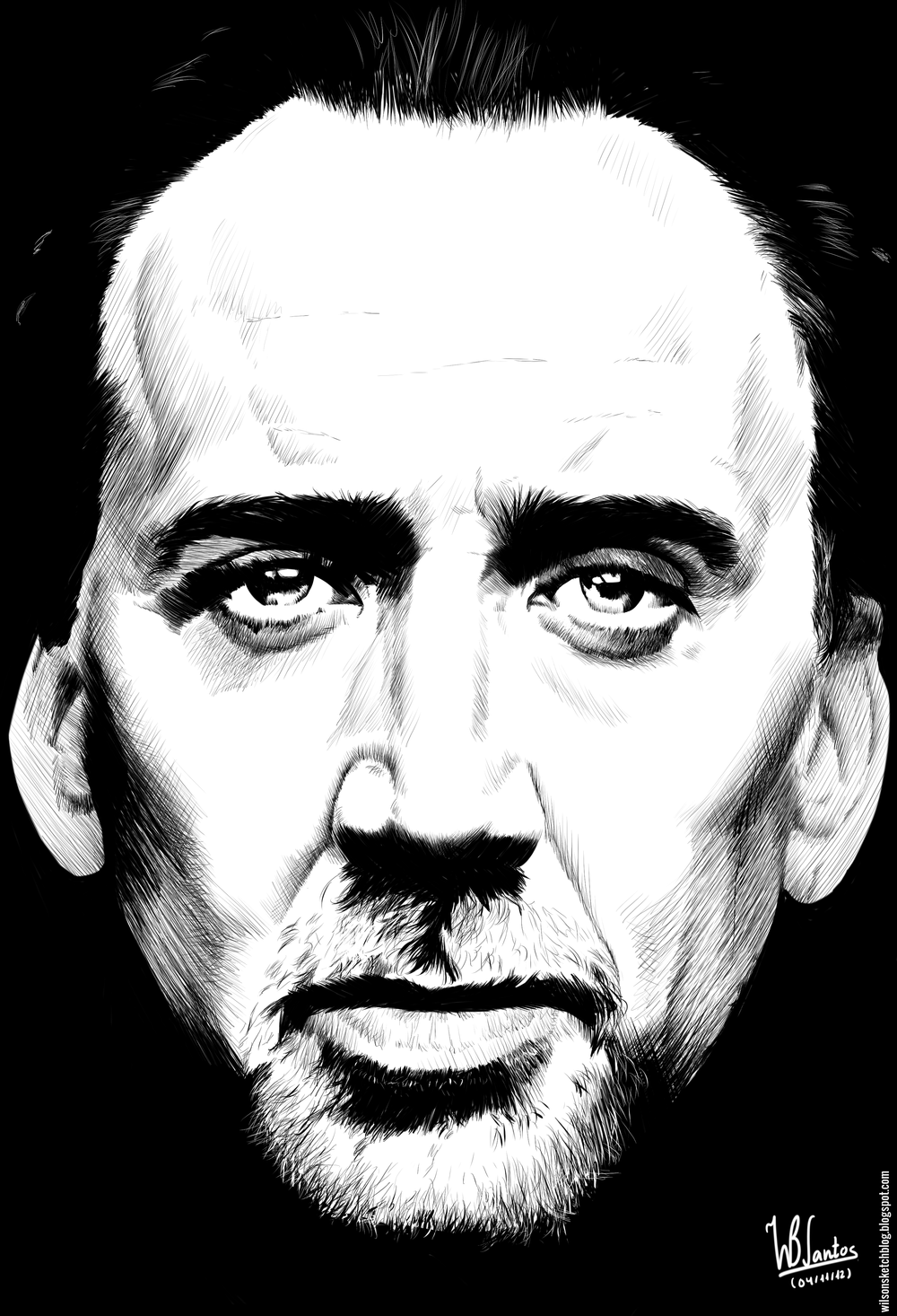 Wilson Sketch Blog Nicolas Cage Coloring Books Nicolas