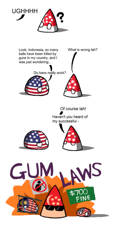 omg! Gum Laws via reddit | Made me laugh | Funny comics, Funny