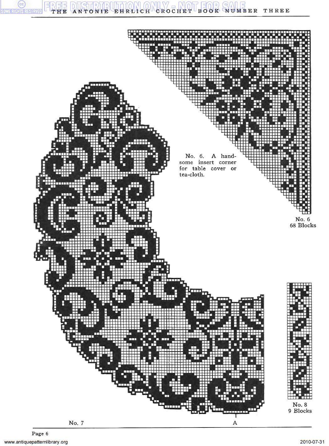 antiques crochet lace
