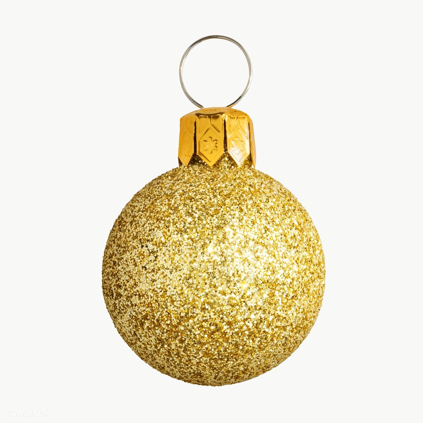 Download Premium Png Of A Glitter Gold Ball Christmas Ornament On Christmas Ornaments Gold Christmas Ornaments Christmas Bulbs