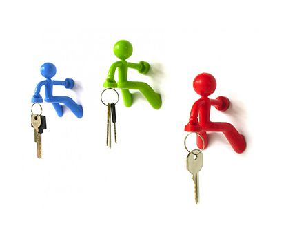 "Peleg Design ""Pete Key Holder"" available on: http://simplecastle.com/product-details.asp?id=942"
