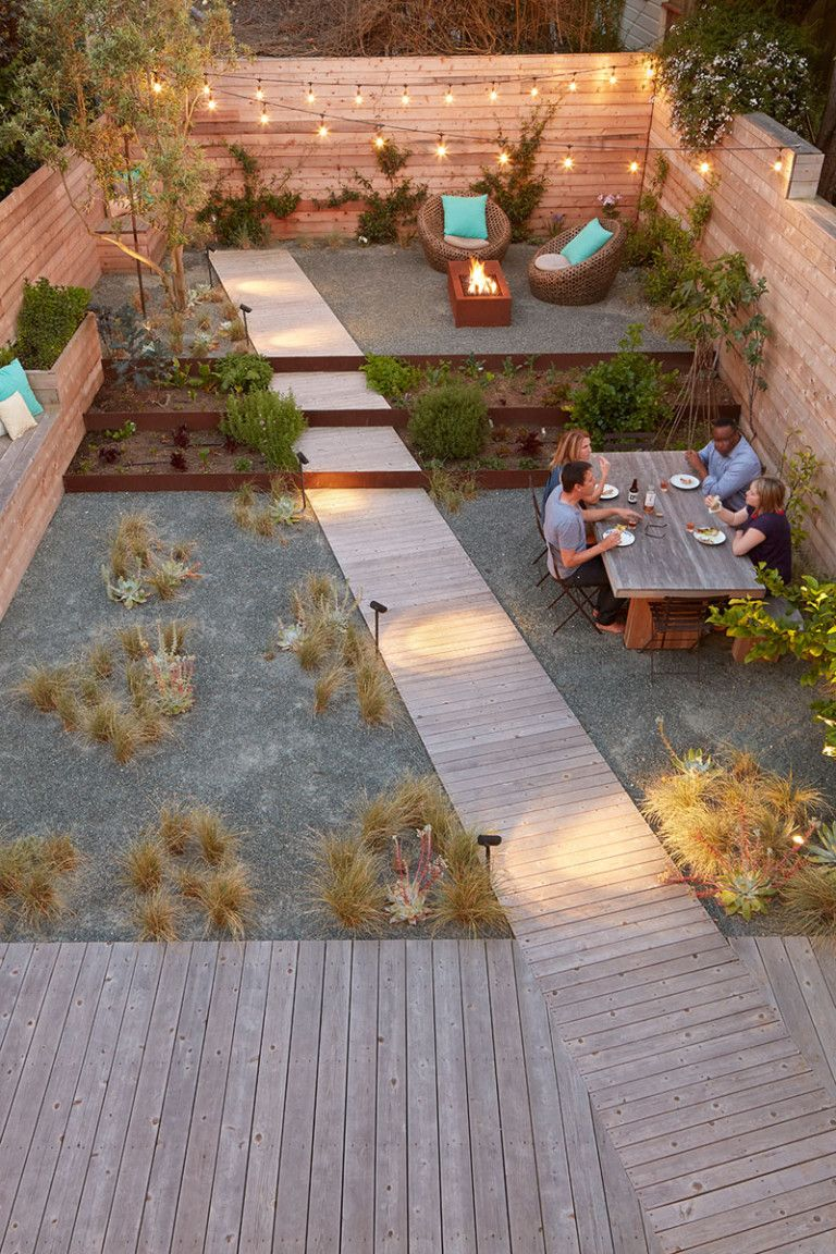 This San Francisco Home Is An Urban Oasis For A Family Of Four Urban Backyard Backyard Backyard Landscaping Backyard garden in usa