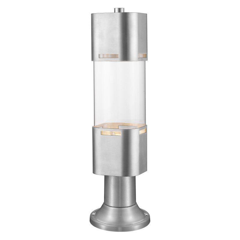 Z-Lite Lestat 562PHBR-553PM Outdoor Post Light - 562PHBR-553PM-BA-LED