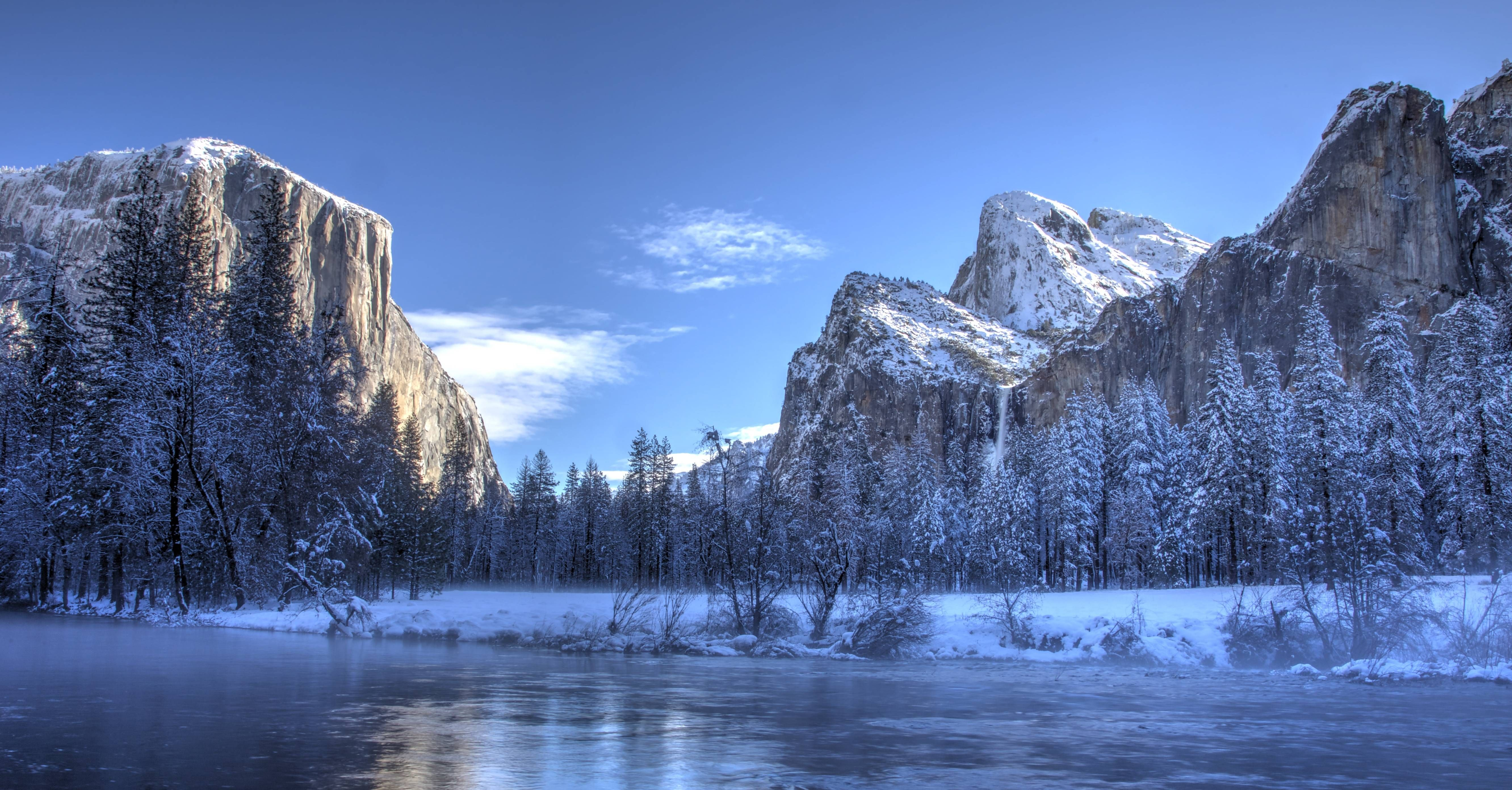 Yosemite Looks A Lot Like Narnia In Winter Colorful Landscape Paintings Landscape Photos Landscape