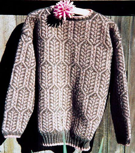 schrouderknits' Norwegian Tree Sweater