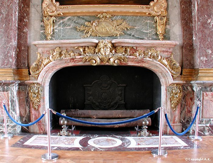From Salon Of Hercules In Versailles Palace Of Versailles Fireplace Versailles