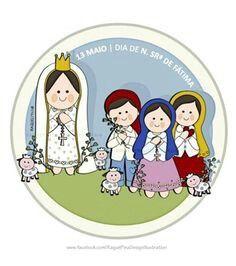 Virgen De Fatima Pinturas De Santa Virgen Caricatura Imagenes