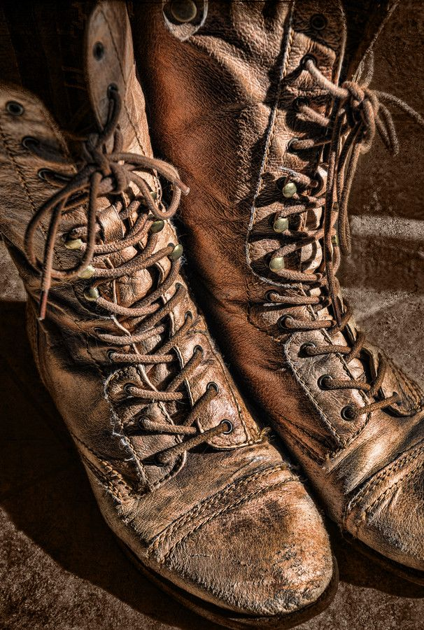 old boots by lapam04 on DeviantArt