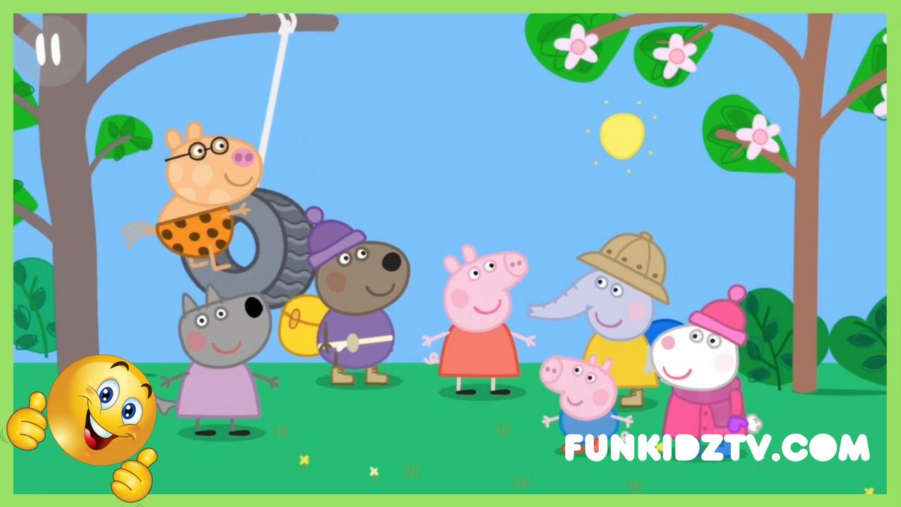 Peppa Pig Goes around the world 🌎 (Full English Episode) | Peppa Pig