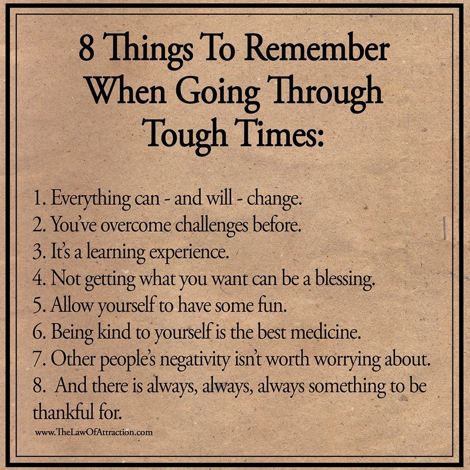 When Times Are Tough Quotes