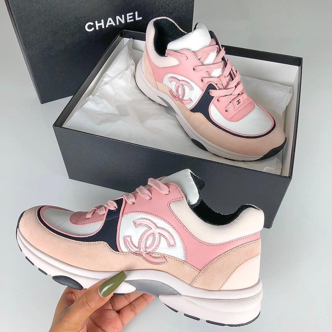 Sneaker Blogger Sherlina Nym S Collection Of Designer Sneakers Bags Chanel Shoes Chanel Sneakers Sneakers Fashion