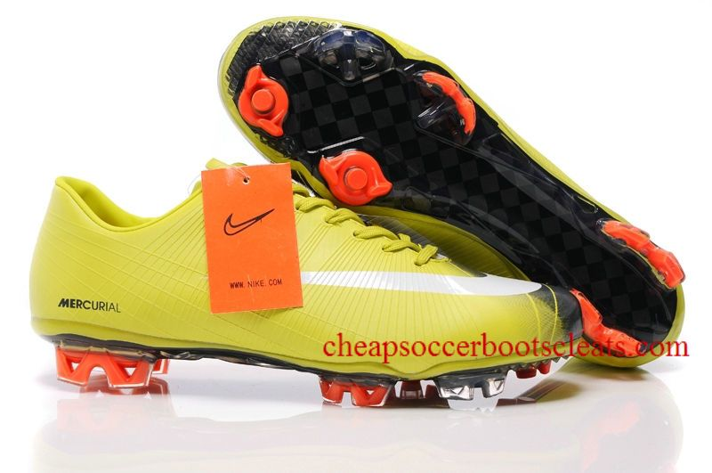 04d99f1c3f1e Nike Mercurial Vapor Superfly II FG Soccer Cleats Bright Cactus White  Anthracite
