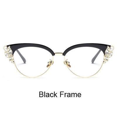 Ralferty Royal Cat Eye Brillen Rahmen Frauen Strass Verschreibungspflichtige Opt Ralferty Royal Cat Eye Brillen Rahmen Frauen Strass Verschreibungspflichtige Opt
